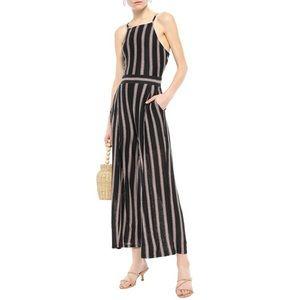 NWT Joie Briselle Tie-Back Striped Jumpsuit